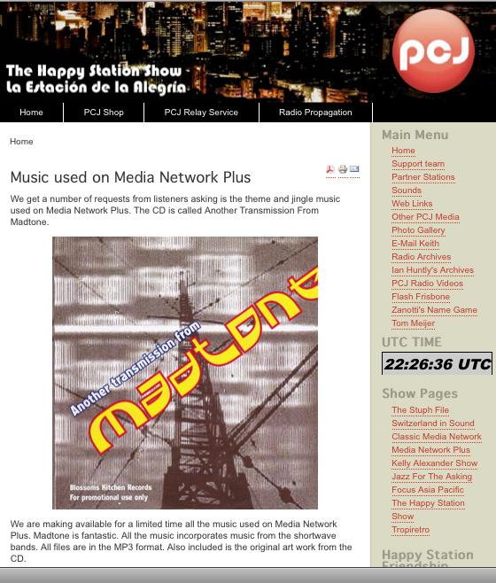 media network plus website