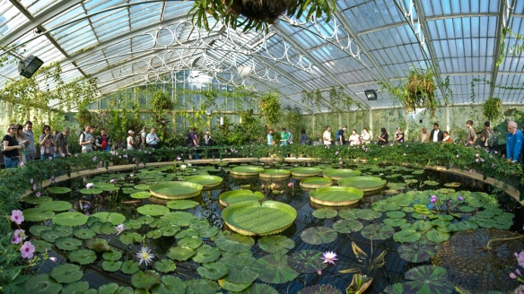 Kew_Gardens_in a waterlilly style