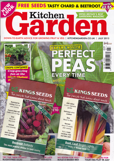 Free seeds kitchen garden