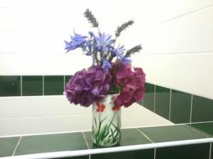 flowers in loos