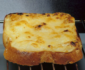 Cheese upon toast