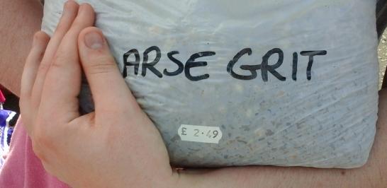Coarse grit