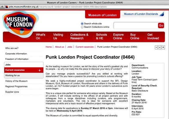 Punk Rock Job