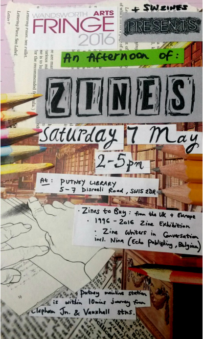 An afternoon of zines