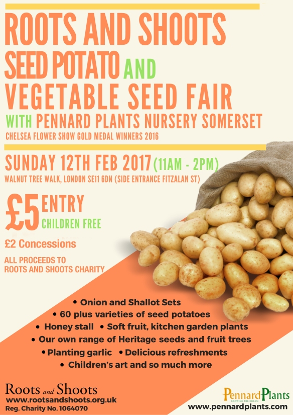 Roots and ShootsSeed Potato andVegetable seed day
